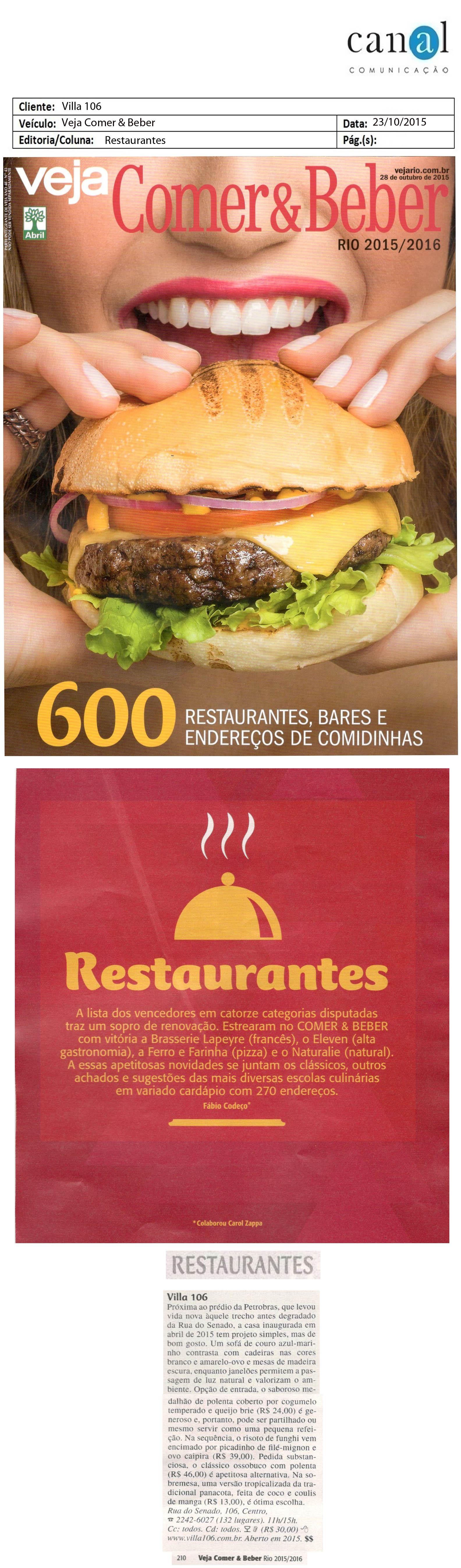 Villa-106_Veja-Comer-&-Beber_Restaurantes_23-10-2015